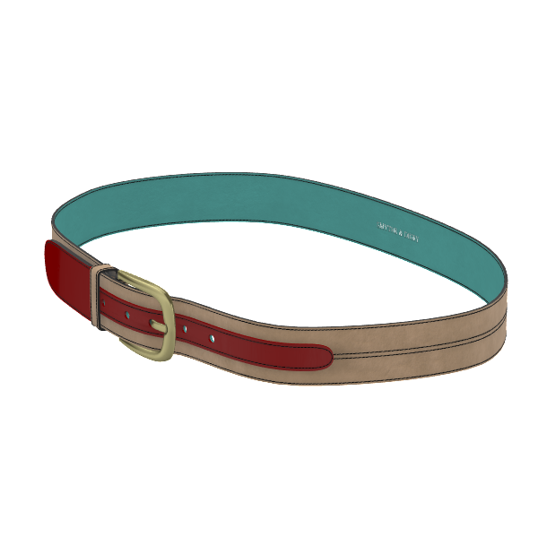 Custom Marseille Belt