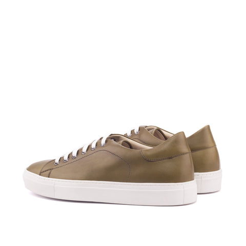 Classic Low Cut Leather Sneakers