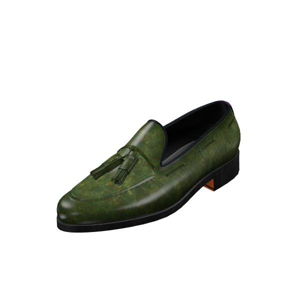 Custom Patina Loafer