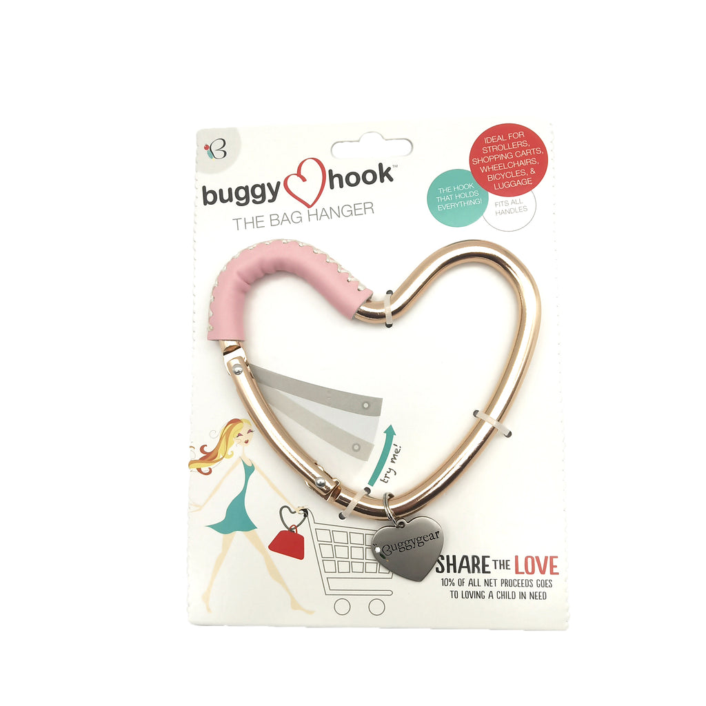 Buggy Heart Hook Brown Leather