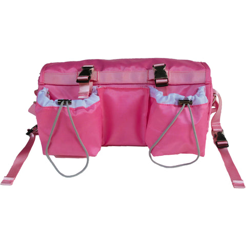 3-in-1 BuggyButler Stroller Organizer & Cooler: Sport Collection - Niki Pink