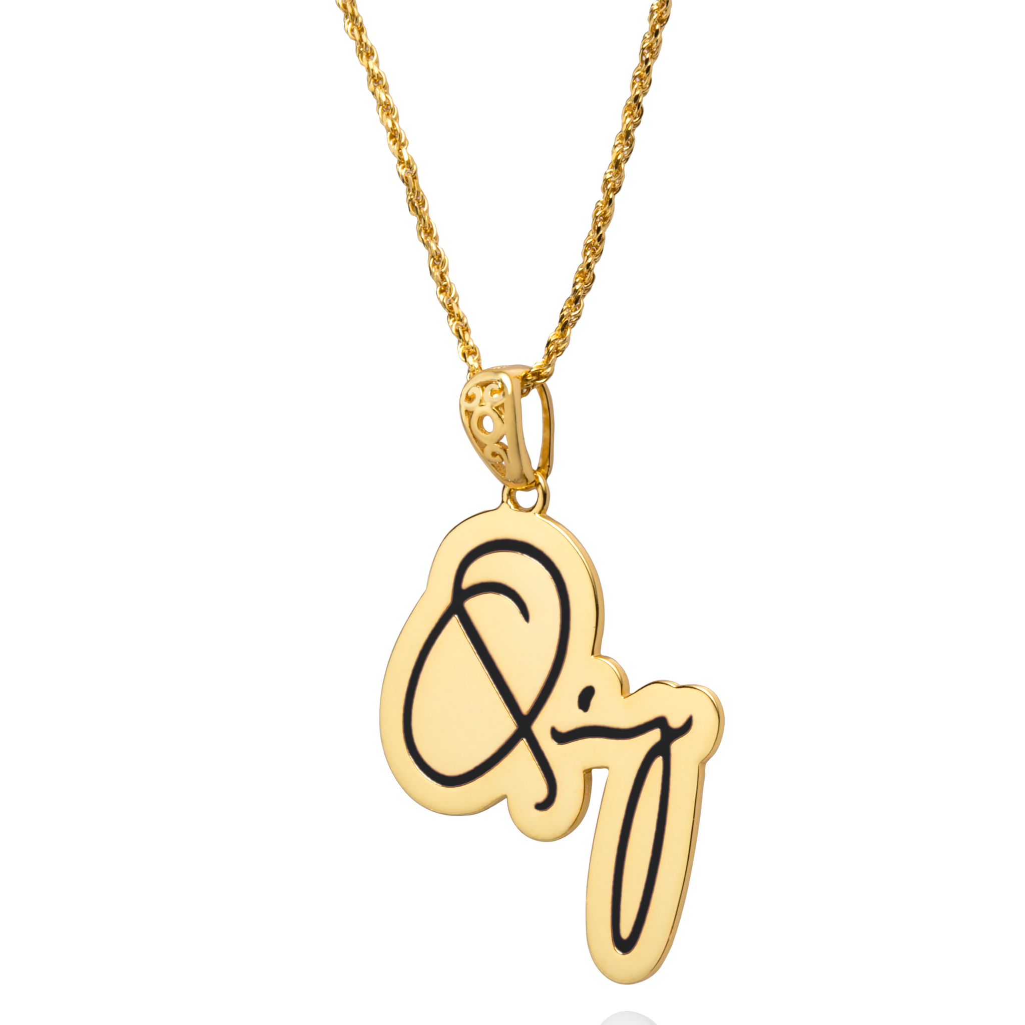 Gold Quincy Pendant
