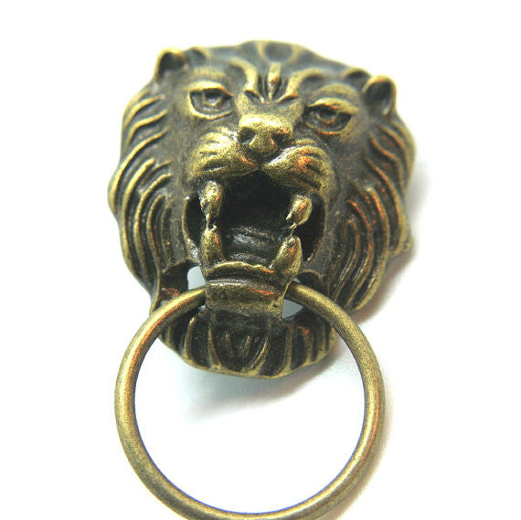 Copy of Roaring Lion Component Antique Golden Bronze