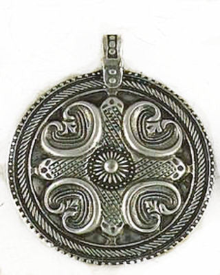 Viking Nordic Amulet of Power and Protection Pewter Pendant