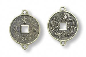 Replica Chinese Coins Light Weight Aluminum 25mm