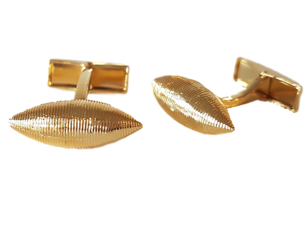 Coiled Gold Cufflinks