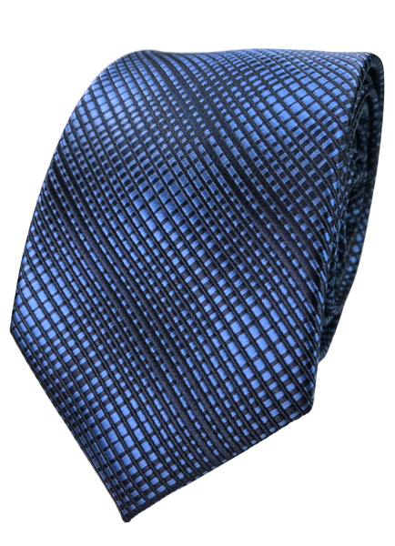 Blue Static Tie