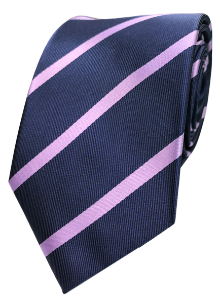 Pink And Purple Tie