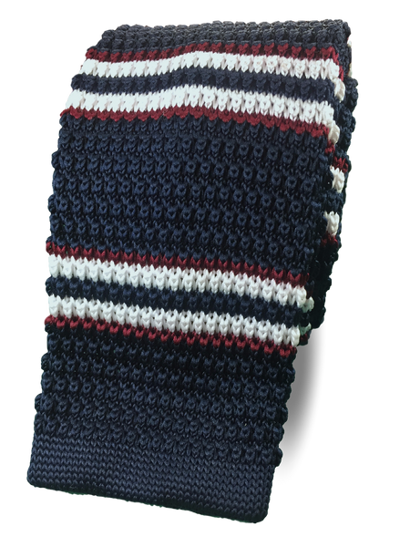 Navy Stripe Knit
