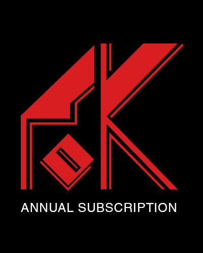 Annual Friends of Kebyar Journal Subscription
