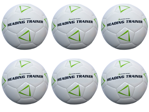 Heading Trainer Team Set of 6 Soccer Balls