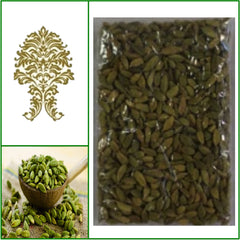 2 Bags. Natural Green Whole Cardamom Pods. Extra Fancy Grade! 100g Ea.