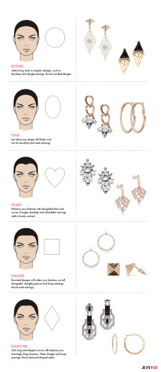 earrings styles guide infographic