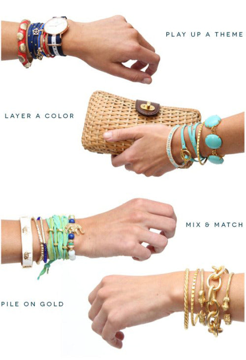 bracelet stacks infographic