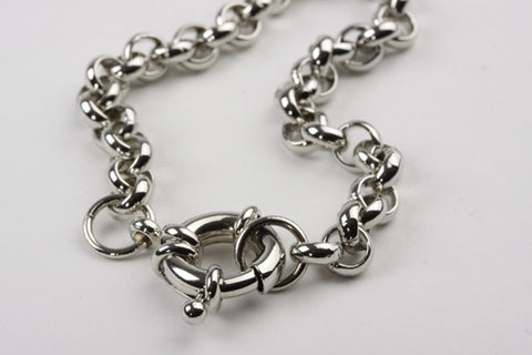 Nautical Belcher Bracelet Silver