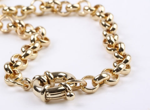 Nautical Belcher Bracelet Gold