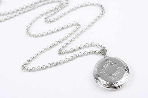 Sweet Memories Locket Silver