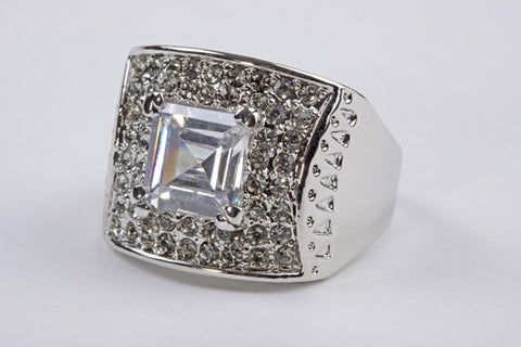 Square Antique Ring
