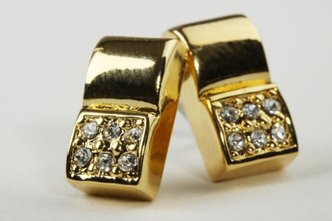 Chic Square Earrings Gold