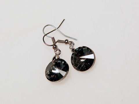 Midnight Sphere Earrings