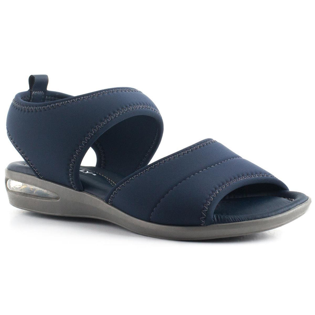 Piccadilly 517009-1002 Women Comfortable Flat Sandal Gel Tech Navy