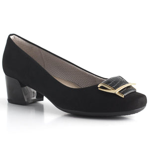 Piccadilly Ref: 320261-1172 Women Business Fashion Shoe with Thick Heel and Pendant