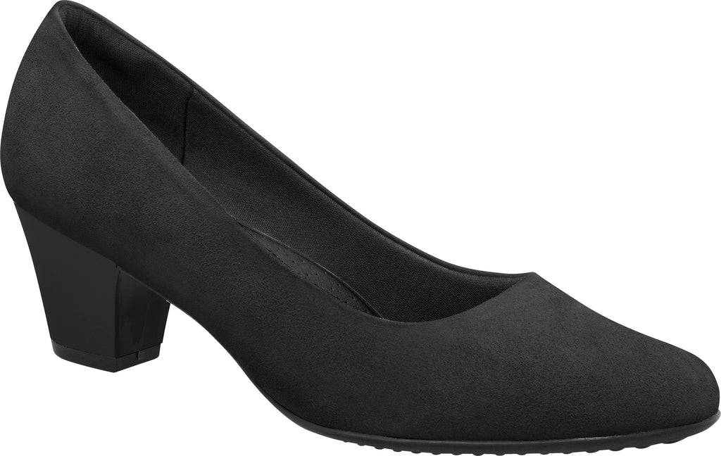 Piccadilly Ref: 110072 Business Executive Court Shoe Medium Heel Suede Microfibre