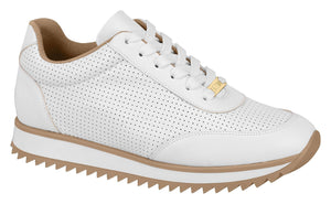 Women White Walking Fashion Sneaker Vizzano 1234.117