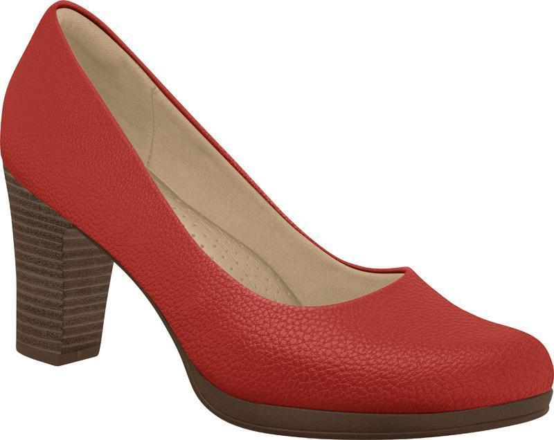 Piccadilly Ref: 130185 Red Flight Attendant Crew Shoes For Uniform Or Fashion Business High Heel
