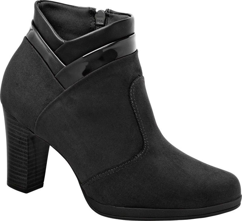 Piccadilly Ref: 130191 Women Fashion Maxitherapy Ankle Boot in Black