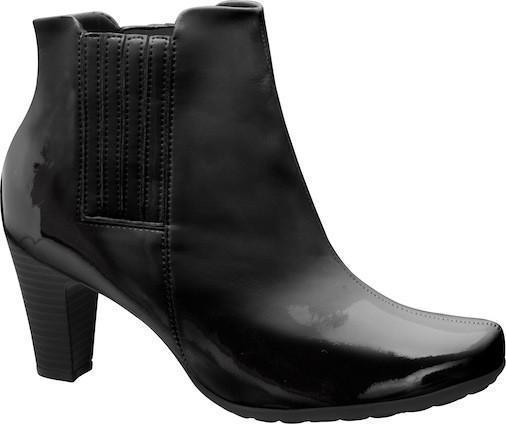 Piccadilly 135039-459 Women Ankle Boot Painted Black