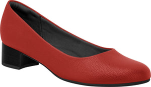 Piccadilly Ref: 140072 Red Flight Attendant Crew Shoes For Uniform Business With Low Heel