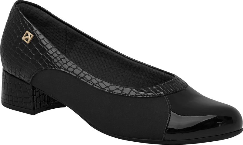 Piccadilly 141074-1073 Women Low Heel Bunion Black