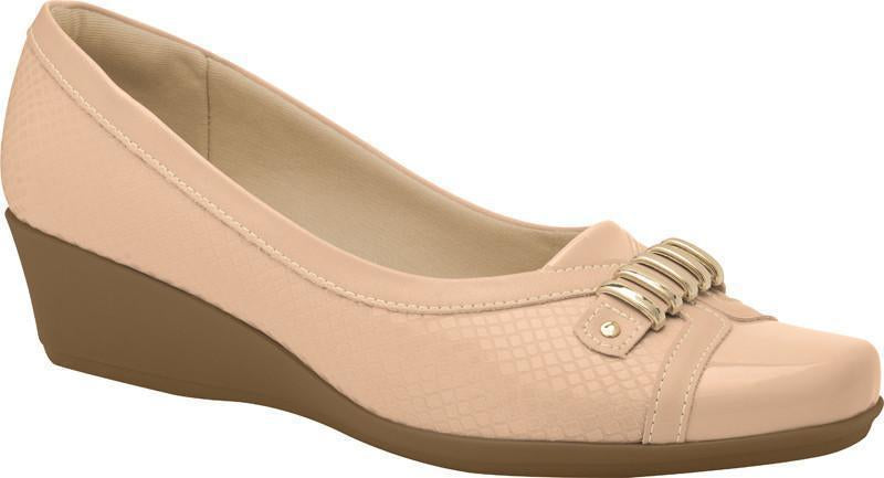 Piccadilly 143028-935 Women Wedge Shoe Nude