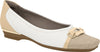 Piccadilly 147138 Women Fashion Moccasin in Natural White Cream