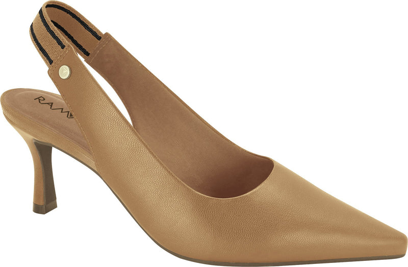 Ramarim 1885201 Women Fashion Comfortable Slingback Shoe in Tan