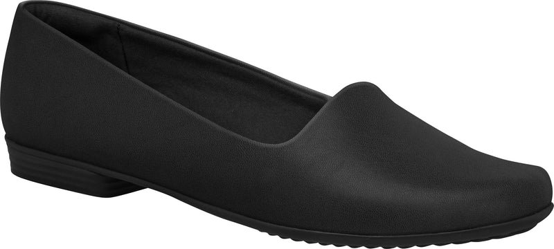 Piccadilly 250132 Women Fashion Business Travel Work Flat in Black High Performance Fabric