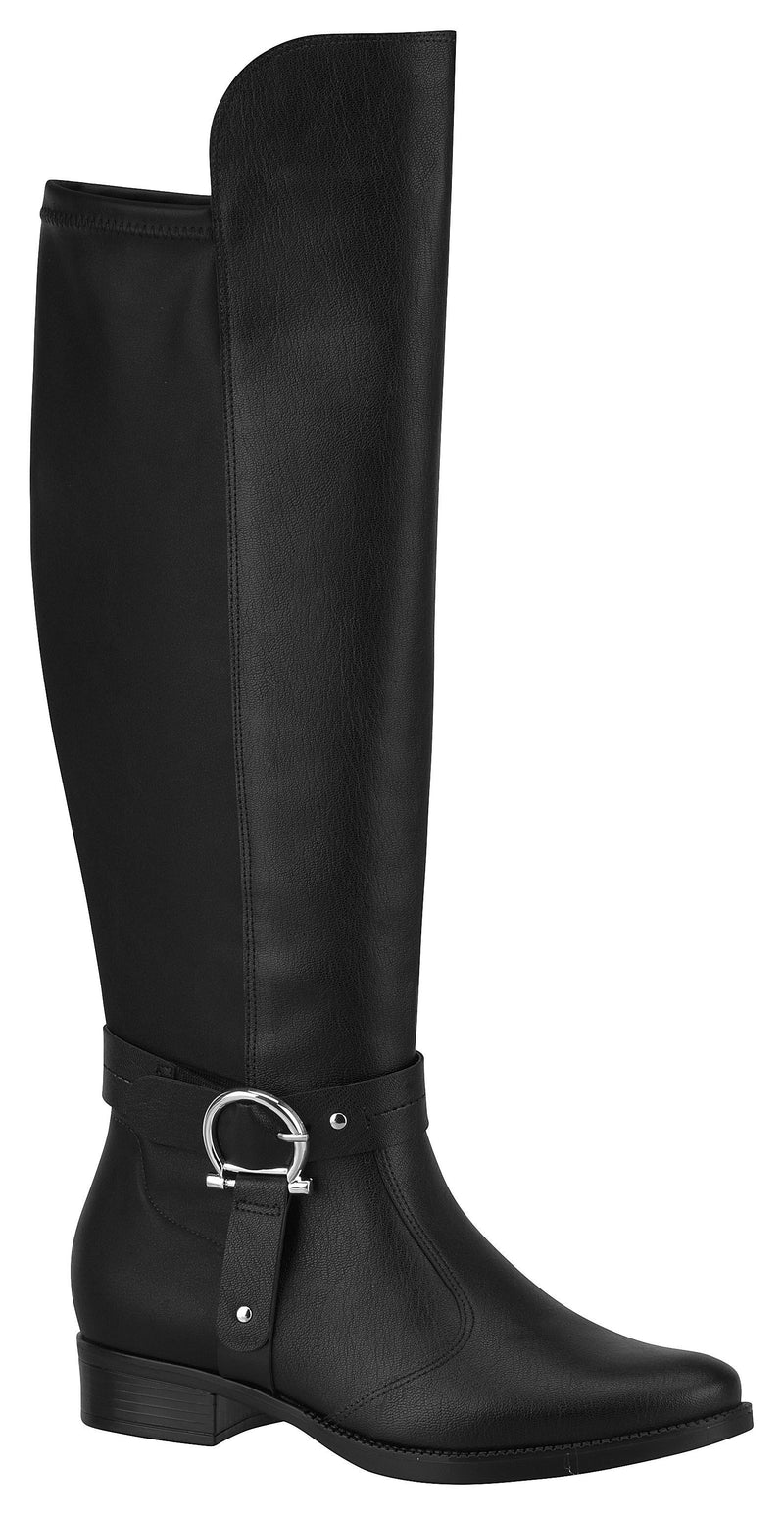 Vizzano 3050.120 Women Fashion Soft Long Boot in Black
