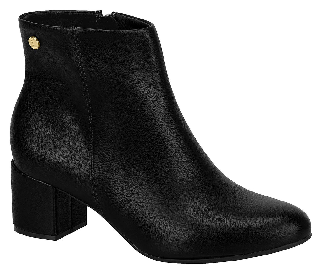 Women Fashion Comfortable Ankle Boot Mid Heel in Black Vizzano 3067.100