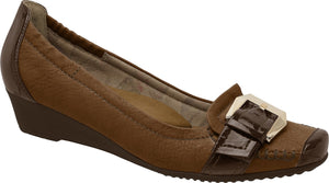 Piccadilly 320091-58 Women Shoe Comfortable Wedge Brown