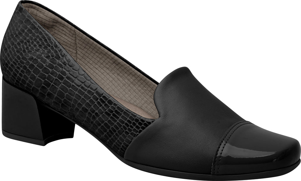Ref: 320272-1174 Women Business Elegant Shoe Loafer with Thick Heel