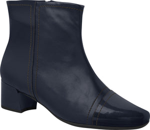 Piccadilly Ref: 320274 Women Fashion Maxitherapy Ankle Boot Med Heel Navy
