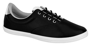 Beira Rio 4145.116-1214 Women Sneaker in Black Silver