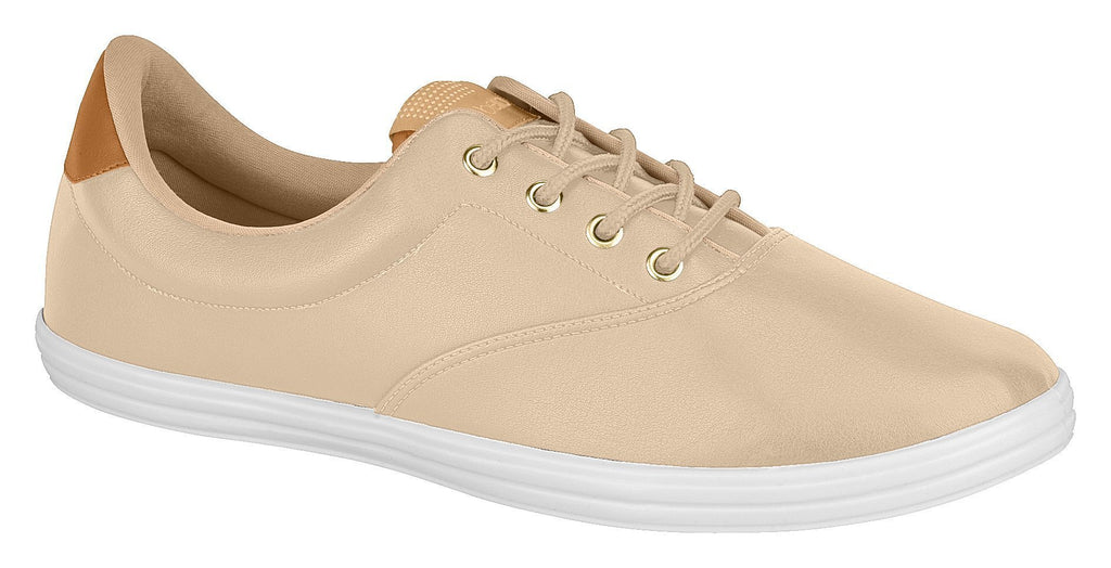 Beira Rio 4145.116-1242 Women Sneaker Tennis Shoe in Beige