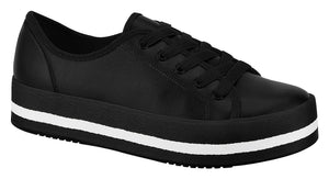 Beira Rio 4194.202-1256 Women Shoe Platform Sneaker in Black