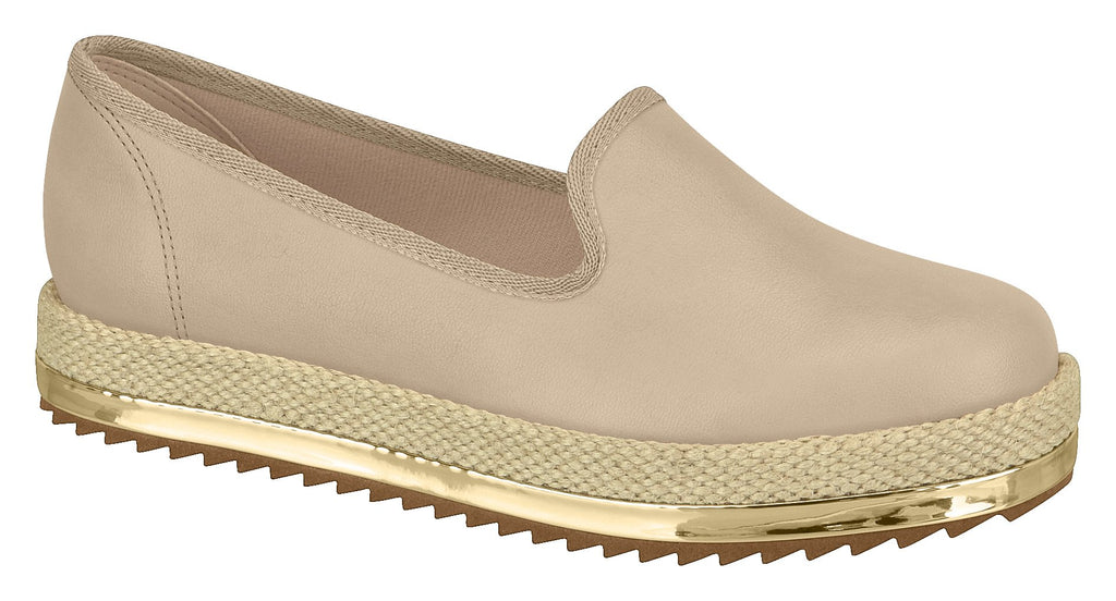 Beira Rio 4196.600 Women Fashion Loafer in Nude