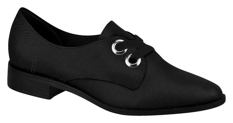 Beira Rio 4223.103 Women Fashion Comfortable Business Oxford Shoe Mid Heel in Black