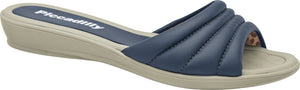 Piccadilly 506011-804 Women Flat Flip Flop Navy