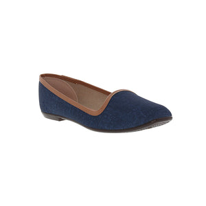 Moleca 5255.635 Women Fashion Flats in Jeans