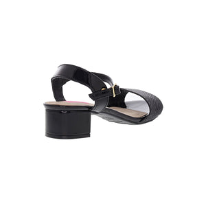 Moleca 5259.605 Women Mid Heel Sandal in Black